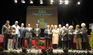 Gala de reconocimiento a los amigos de la cultura.