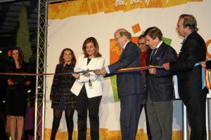 Inauguración de Holea por parte de la ministra de Empleo.