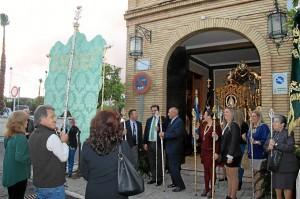 Ibiza y San Juan del Puerto hermanos de la Virgen del Rocío