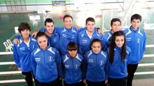 Equipo del Recreativo IES La Orden de Liga Andaluza.