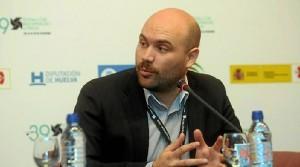 Moisés Sepúlveda en rueda de prensa.
