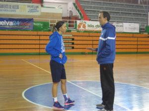 Nina Bogicevic con Gabriel Carrasco.