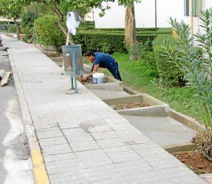 Obras en San Juan del Puerto.