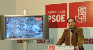 Presentación del vídeo por parte de José Fernández.