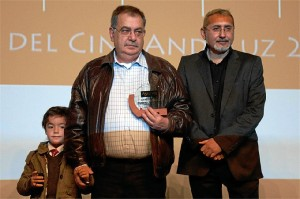 Pancho Bautista en la entrega de premios de Asecan el pasado año.