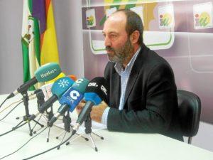 Pedro Jiménez, en rueda de prensa.