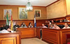 Sesión plenaria en Bollullos.