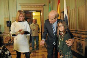 Pleno infantil 2013. Alcaldesa Ana Losada (3)