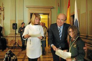 Pleno infantil 2013. Alcaldesa Ana Losada (4)
