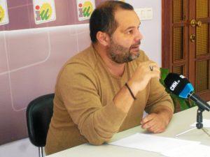 Rafael Sánchez, en rueda de prensa este lunes.
