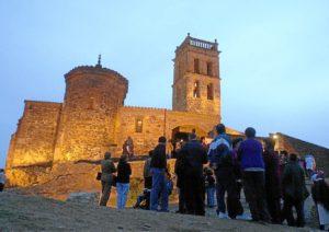 Aspecto del Castillo de Almonaster. (Julián Pérez)