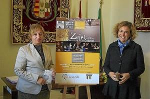 Presentación de la programación, que tuvo lugar en Trigueros.