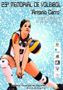 Memorial Antonio Carro de voleibol.