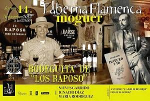 Cartel de la taberna flamenca.