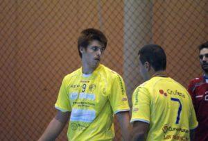 Darío Mata, jugador del PAN Moguer.