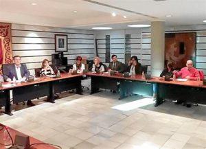 Imagen del pleno municipal celebrado este miércoles en Punta Umbría.