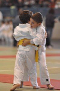 Judokas ayamontinos.