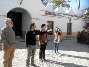 Periodistas colombianos, en Huelva.