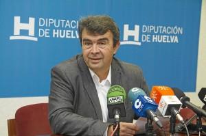 José Martín, portavoz del grupo socialista en la Diputación.