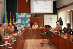 Reunión en Cartaya del sector turístico.