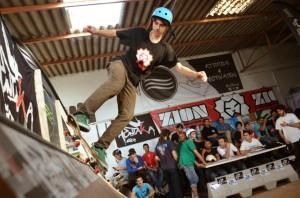 Alex Redis, mejor truco de skate.