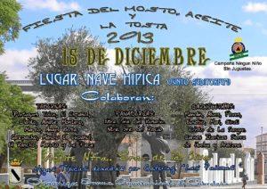 Cartel de la Fiesta del Mosto.