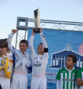 Real Madrid, campeón de la Live Football Cup.