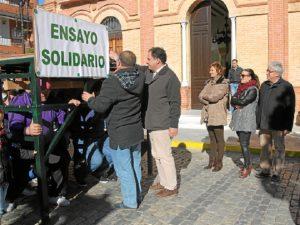 Ensayo solidario en San Juan del Puerto.