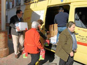 1.500 kilos de alimentos se han llegado a recoger.