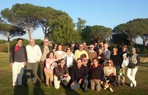Torneo de golf en Bellavista.