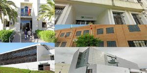 Partidos judiciales de la provincia de Huelva.