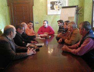 Reunión  CSIF y Ayuntamiento de Almonte