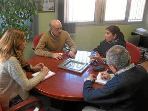 Reunión sobre el medio ambiente y el sector fresero.