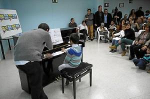 Audición musical en San Juan del Puerto.