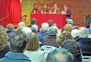 Acto del PSOE.