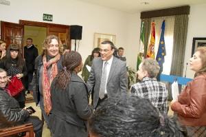 La lectura ha tenido lugar en la Diputación Provincial de Huelva.