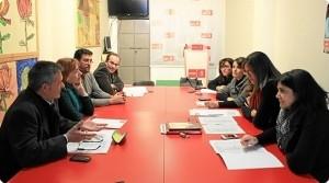 Reunión en Almonte.