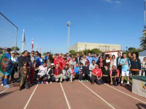 Mundialito en Moguer con motivo del Día Internacional del Inmigrante.