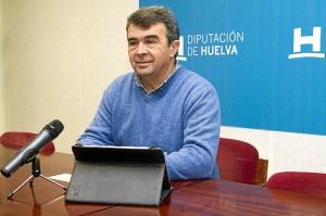 José Martín en rueda de prensa.