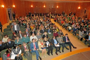 Público en la gala.
