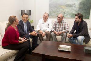 visita asociacion prensa deportiva