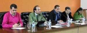 10-01-14 Encuentro sector dehesa de Huelva (Jabugo)