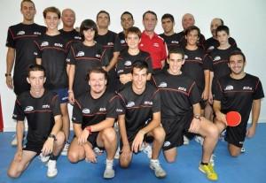 Club de Tenis de mesa del Conservas Concepción.