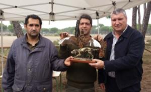 Campeonato de becada de caza en Cartaya.