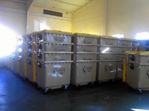 146 nuevos contenedores de envases de plastico