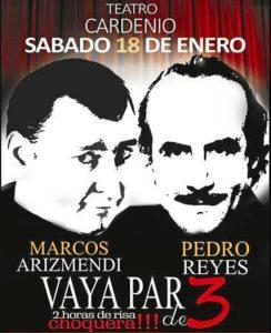 Cartel de la actuación en Ayamonte.