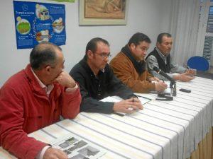 Un momento del Pleno en Chucena.