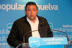 El portavoz del PP en el Ayuntamiento de Almonte.
