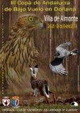 Cartel de la Copa de bajo vuelo en Doñana.