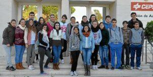 Alumnos del IES Nuevo Milenio.